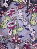 SS Colorful flower design fabric